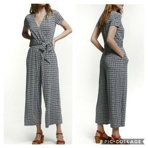 Boden Ellen tie waist cropped jumpsuit